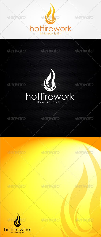 Hot Firework Logo Template - Nature Logo Templates