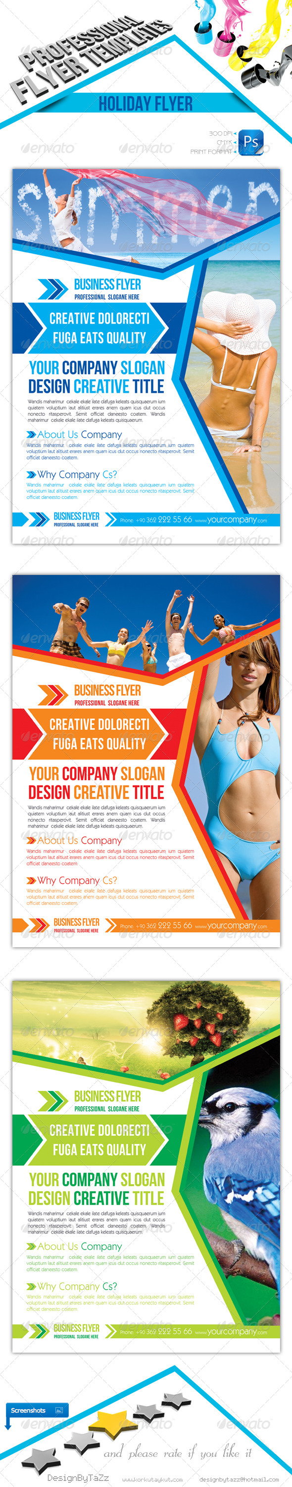 Corporate Flyer Template - Commerce Flyers