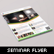 Corporate Seminar and Event Flyer - GraphicRiver Item for Sale