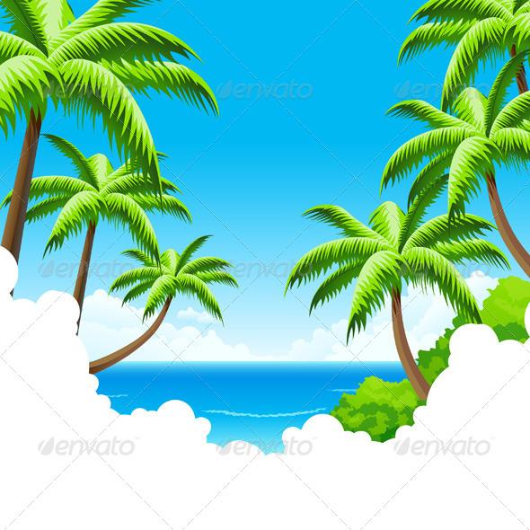 Summer Vacation Background - Landscapes Nature