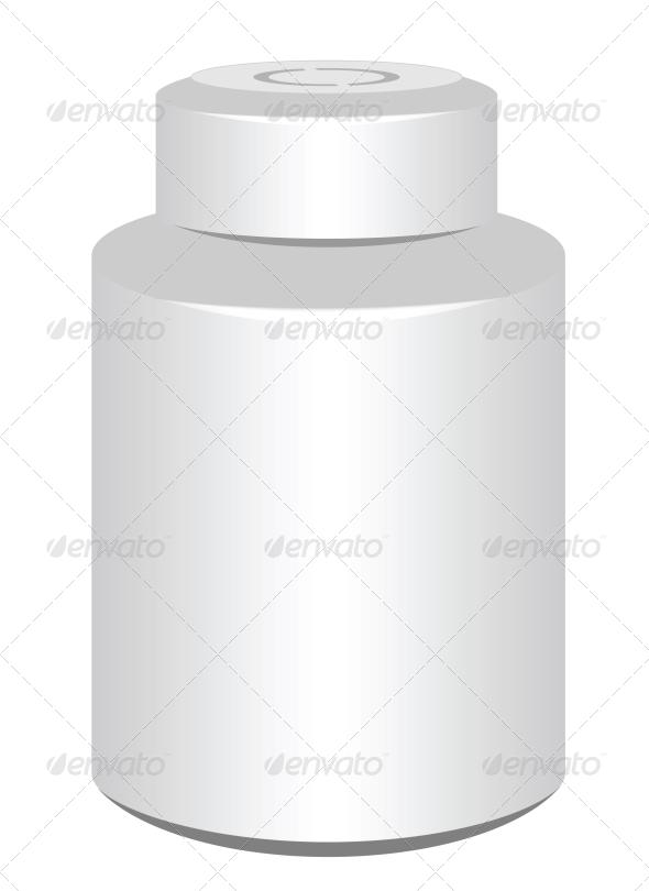Pill Bottle - Health/Medicine Conceptual