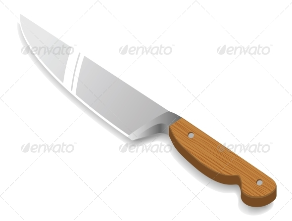 Vector Kitchen Knife - Miscellaneous Vectors