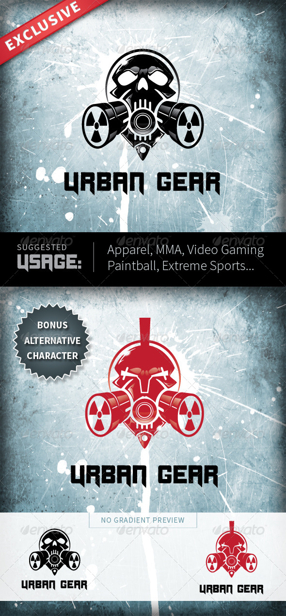 Urban Gear - Symbols Logo Templates