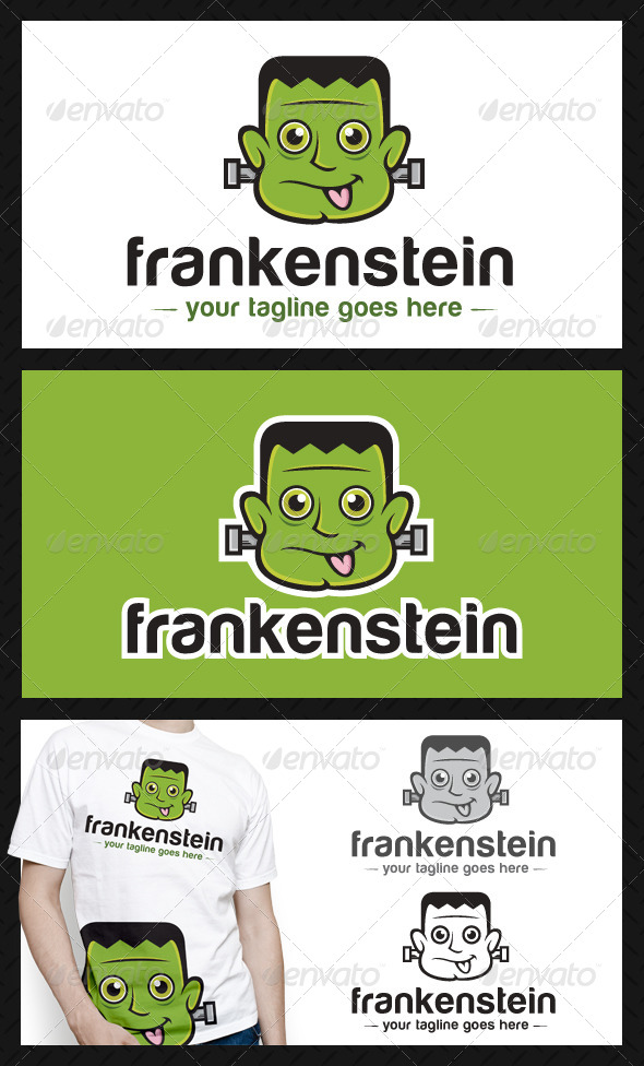 Frankenstein Logo Template - Humans Logo Templates
