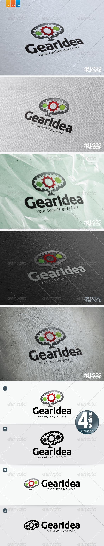 GearIdea - Objects Logo Templates