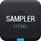 Sampler - Creative showcase - ThemeForest Item for Sale