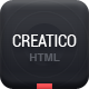 Creatico - Responsive HTML5 Onepage Template - ThemeForest Item for Sale
