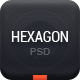 Hexagon - Creative PSD theme - ThemeForest Item for Sale