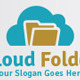 Cloud Folder Logo - GraphicRiver Item for Sale