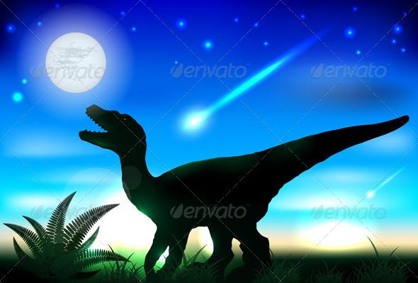 Tyrannosaurus Rex - Monsters Characters