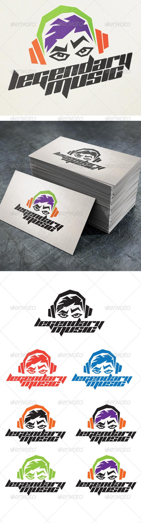 Legendary Music - Humans Logo Templates