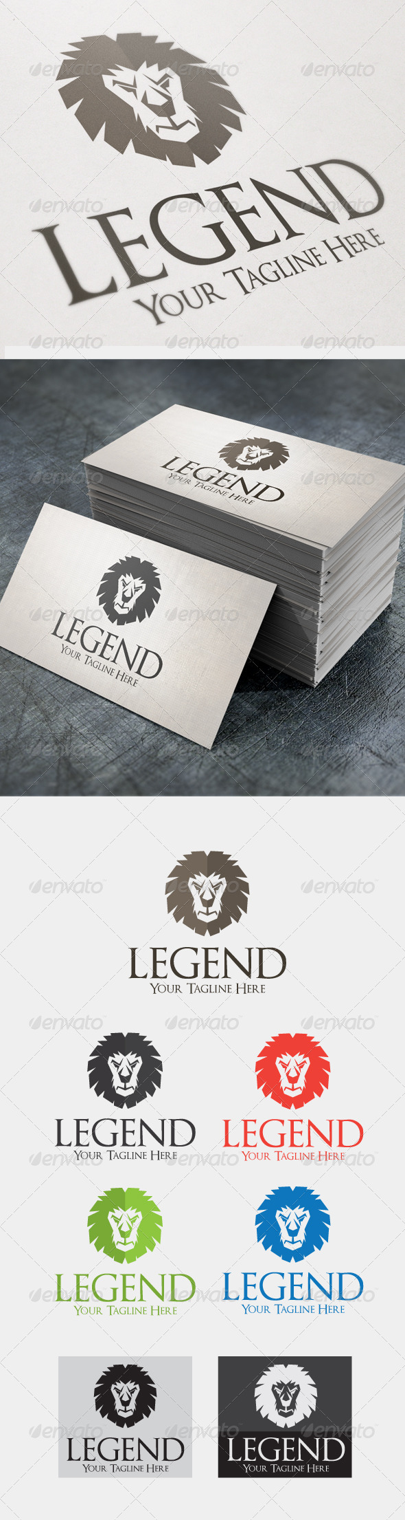 Legend - Animals Logo Templates