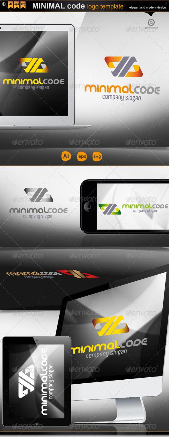 Minimal code - Logo Templates