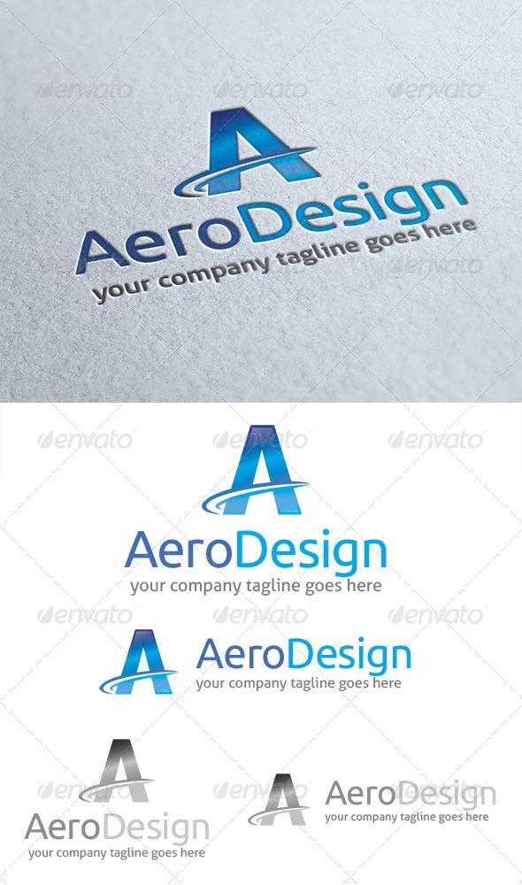 Aero Design Logo - Letters Logo Templates