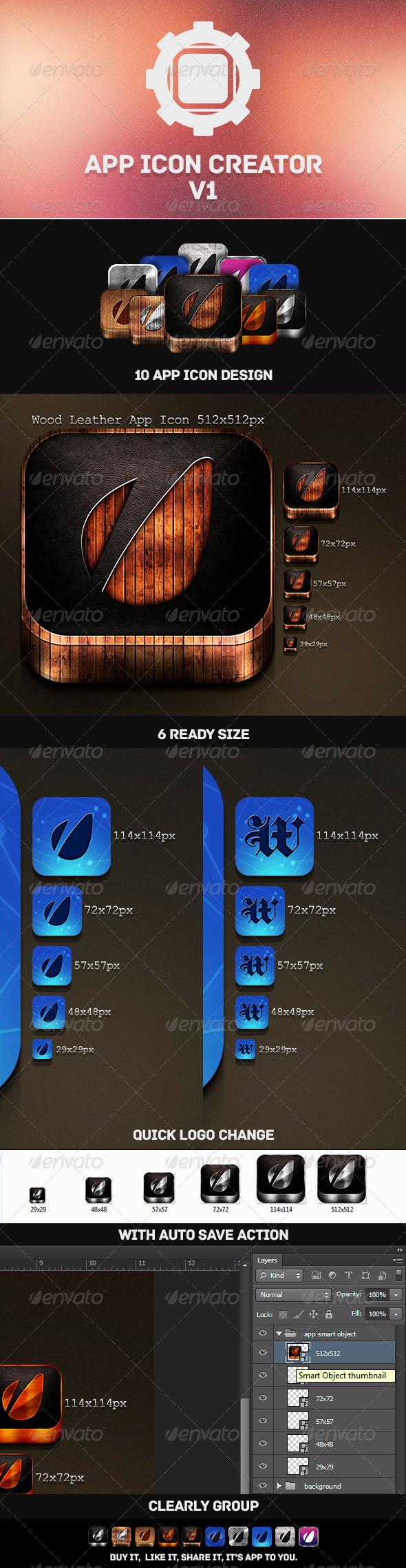 App Icon Creator V1 - Icons