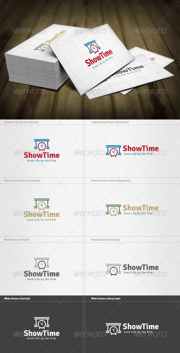 Show Time Logo - Symbols Logo Templates