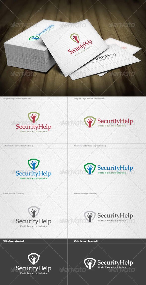 Security Help Logo - Symbols Logo Templates