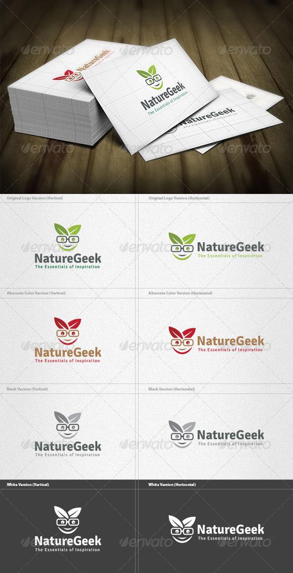 Nature Geek Logo - Nature Logo Templates