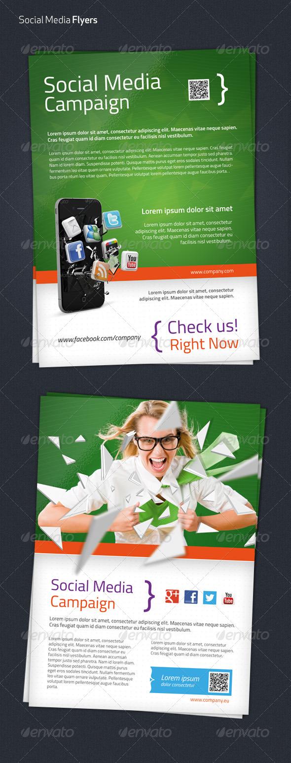 Social Media Flyer Templates - Corporate Flyers