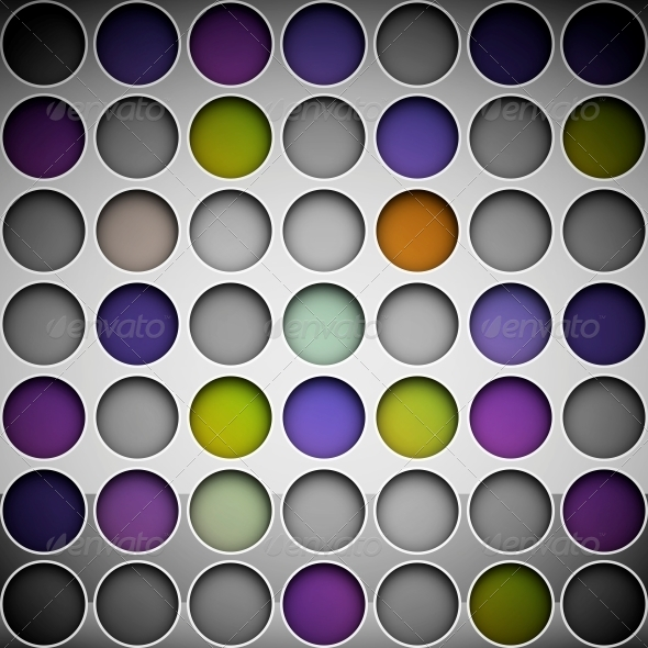 Background with Circles - Backgrounds Decorative