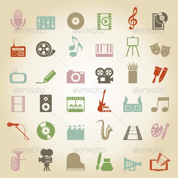 Art Icon 3 - Miscellaneous Vectors