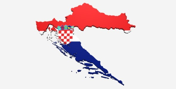 Croatia Map - 3DOcean Item for Sale