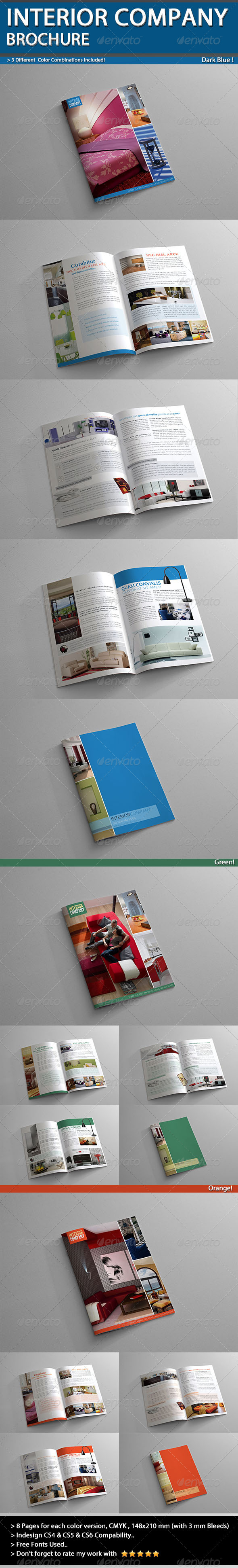 Interior Company Brochure A5 V01 - Catalogs Brochures