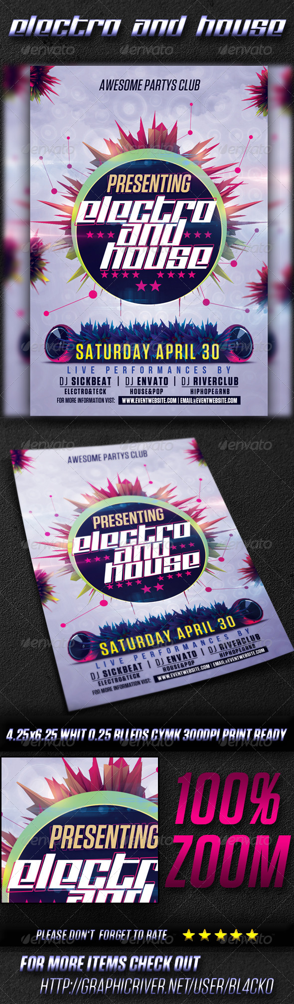 Electro And House Party Vol3 - Clubs & Parties Events