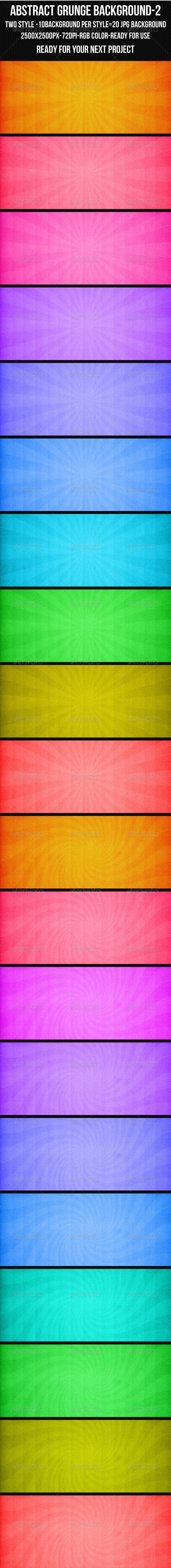 Abstract Grunge Background Set 2 - Abstract Backgrounds
