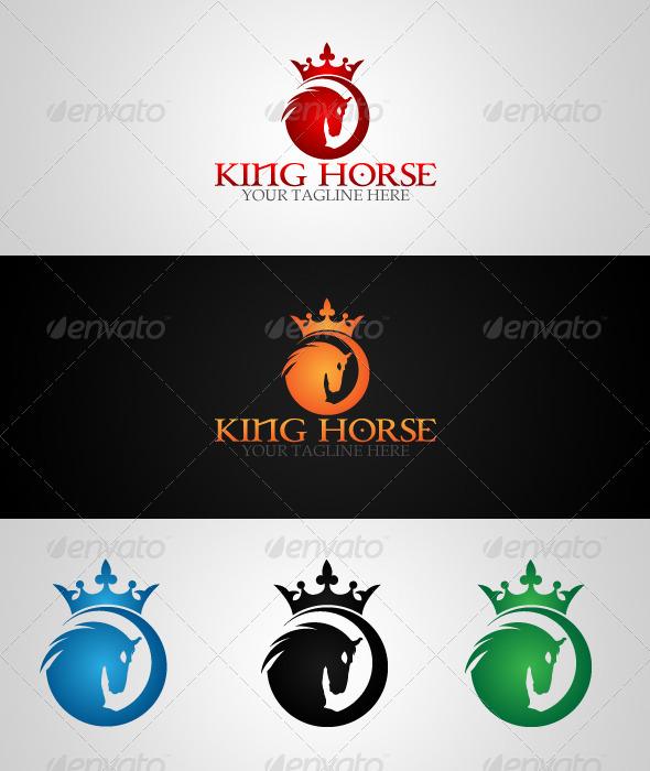 King Horse Logo Template - Logo Templates