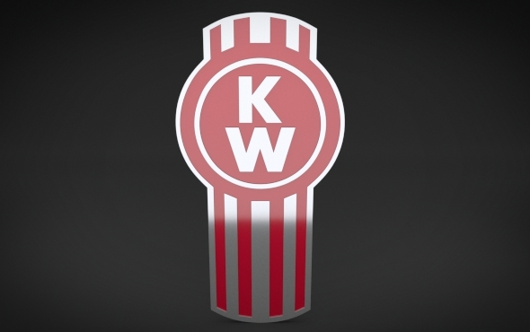 KenWorth Logo - 3DOcean Item for Sale