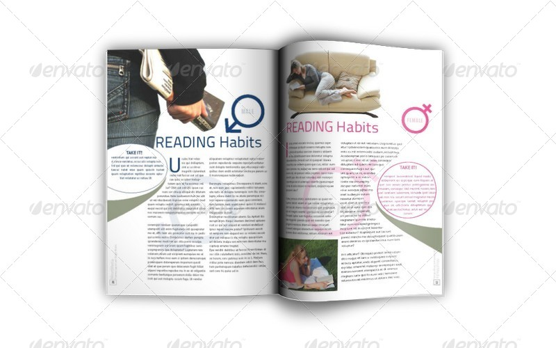 Indesign Magazine Template Bundle (92 Pages) by Jazh   GraphicRiver