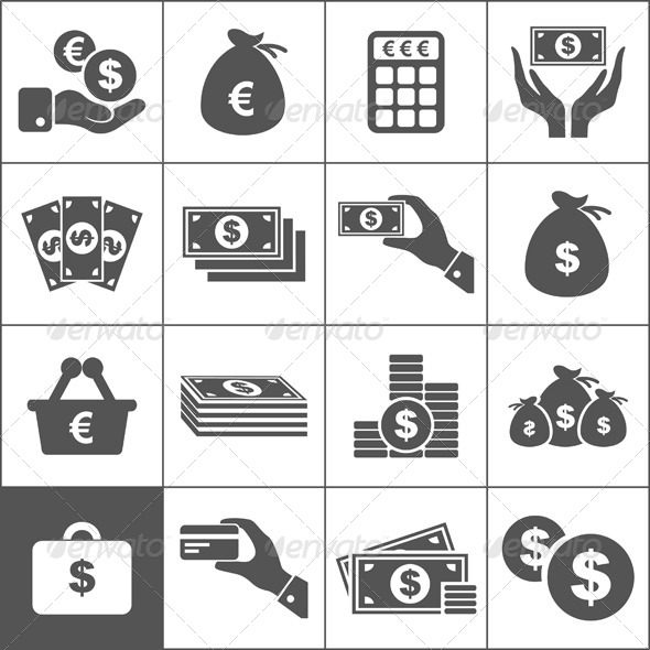 Money an Icon - Business Conceptual