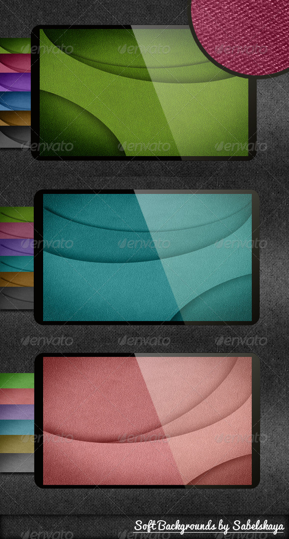 18 Soft Backgrounds - Abstract Backgrounds