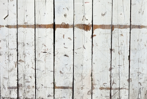 grungy white background of natural wood  - Wood Textures