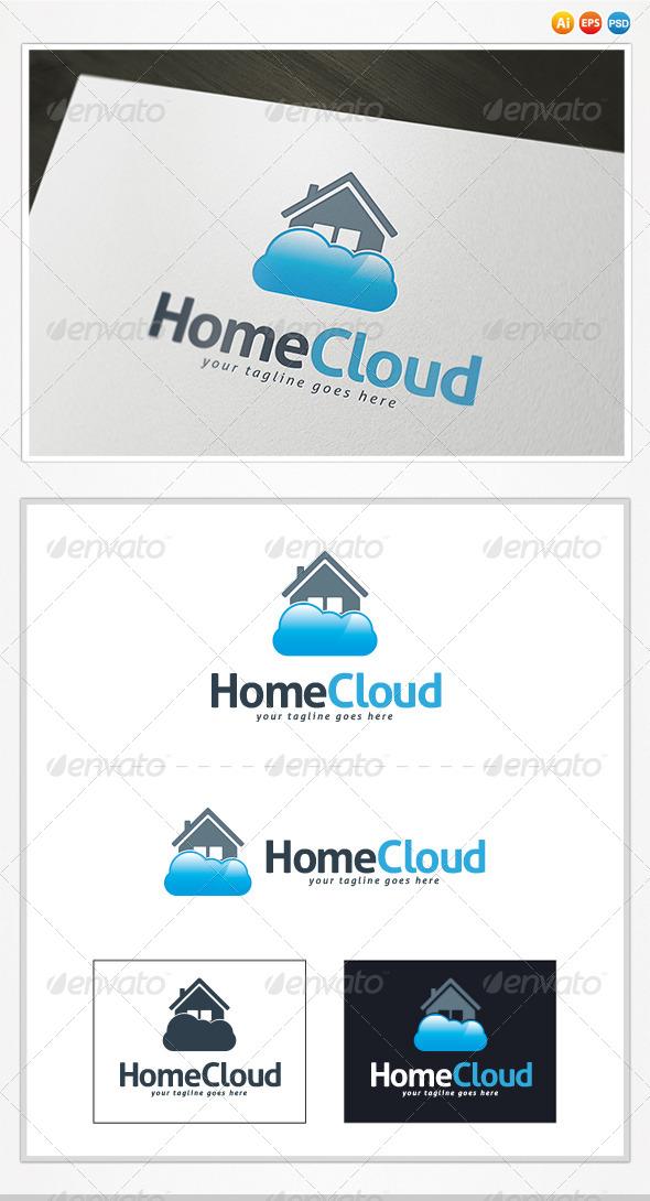 Home Cloud Logo - Buildings Logo Templates