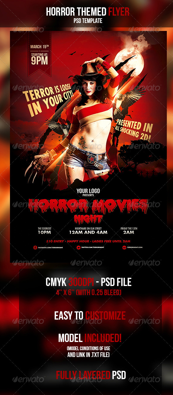 horror flyer oker whyanything co