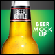 Beer Bottle Mock-Up V3 - GraphicRiver Item for Sale