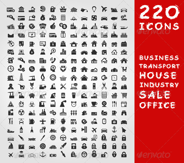 Collection of Icons 2 - Miscellaneous Vectors