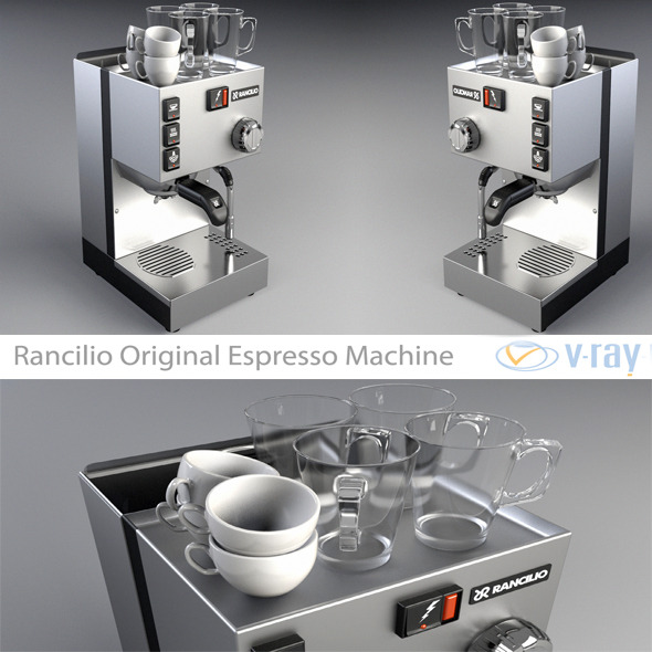 Rancilio Original Espresso Machine - 3DOcean Item for Sale