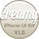 Creamy iPhone UI Kit - GraphicRiver Item for Sale