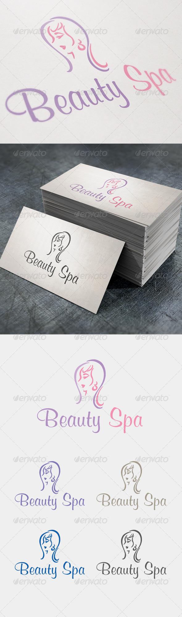 Beauty Spa - Humans Logo Templates