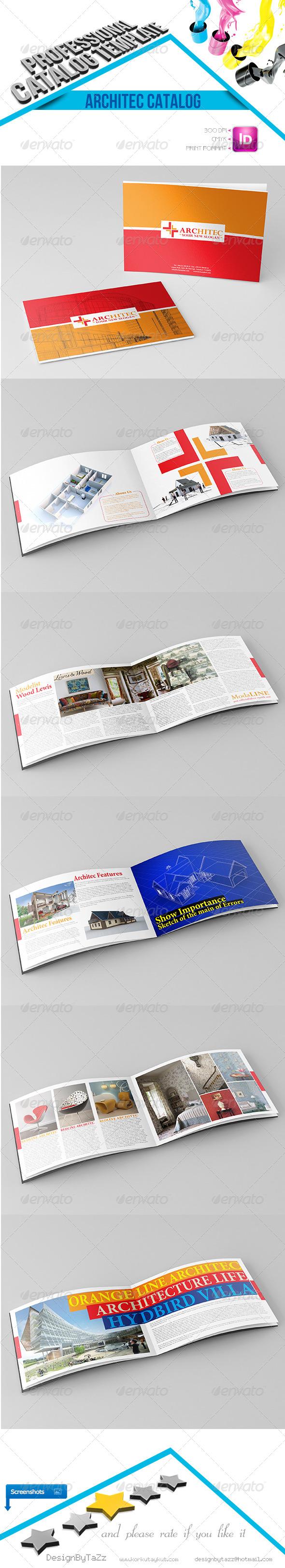 Architec Corporate Identity Catalog - Catalogs Brochures