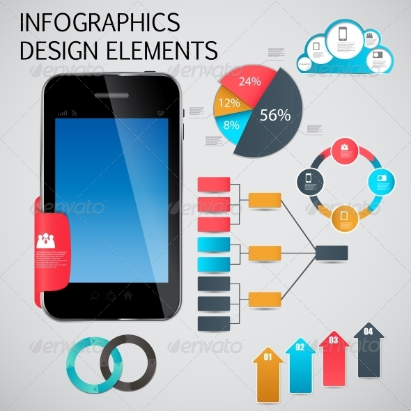 Infographic Template Business Vector Illustration - Infographics