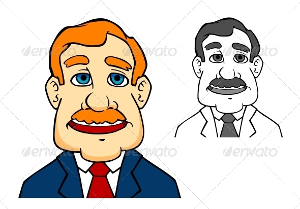 Happiness Businessman - People Characters