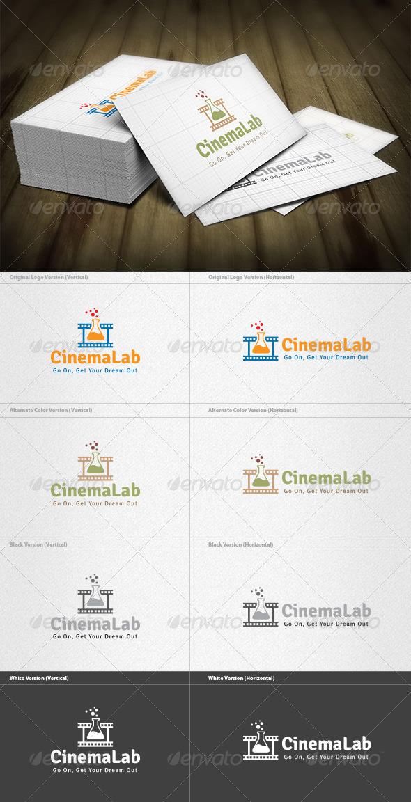 Cinema Lab Logo - Symbols Logo Templates