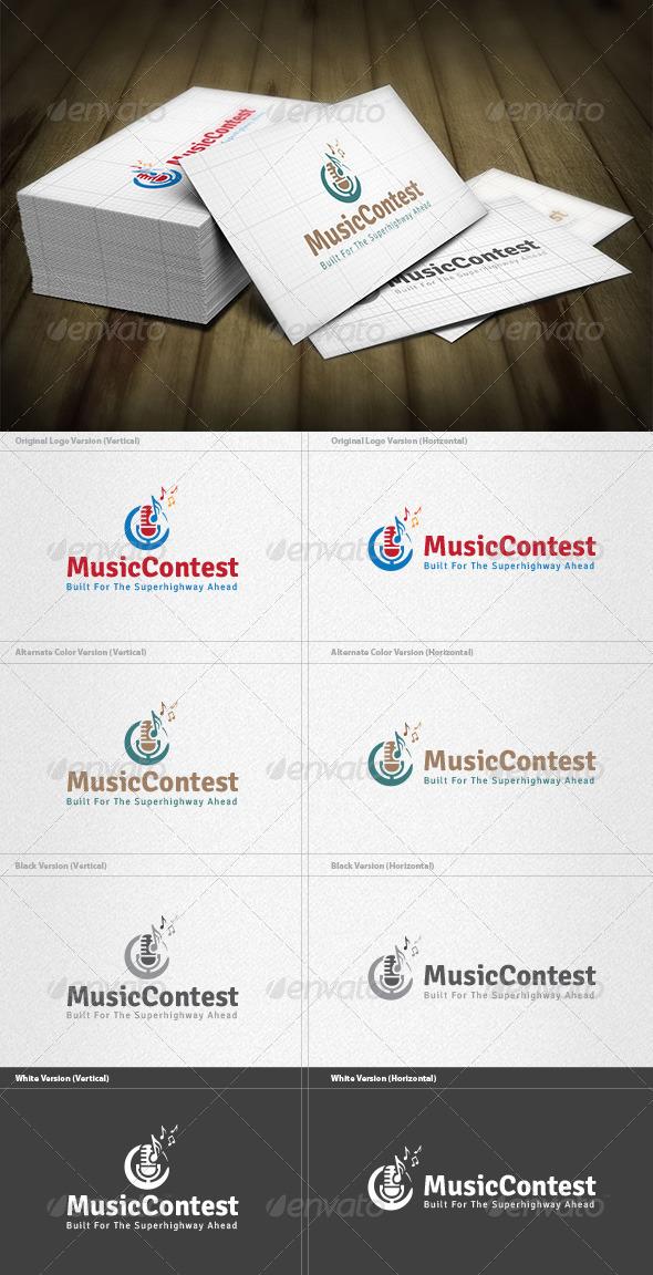 Music Contest Logo - Symbols Logo Templates