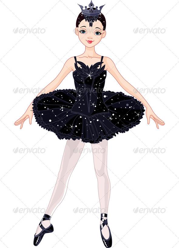 Black  Ballerina - People Characters