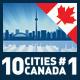 Vector City Skyline Set. Canada #1 - GraphicRiver Item for Sale