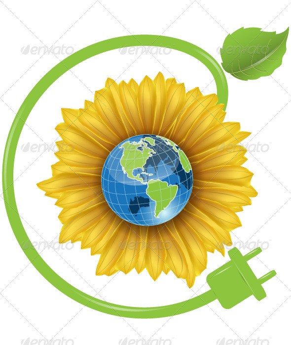 Sunflower and Globe - Concepts Business